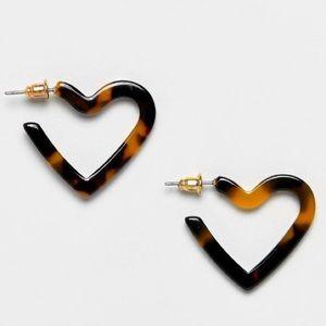 NWT ASOS Tortoiseshell Earrings